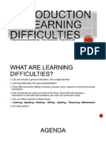 Introduction to Learning Difficulties - Edited