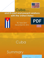 cuba and united states relations world cultures