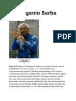 Eugenio Barba Research
