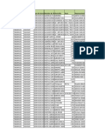 Base de Datos Serv. Tcos. Julio 2014