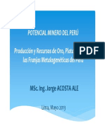 Potencial Minero Del Peru