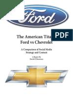 ford v chevy