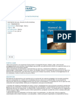 Manual de Optometría