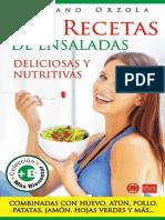 128 Recetas de Ensaladas Deliciosas y Nutritivas Mariano Orzola.alba