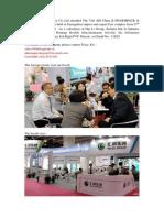 Sichuan Hui Li Industry Co Present on 73th API China&Pharmpack&Sinophex Expo