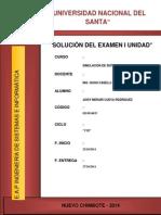 Informe Original Examen Primera Unidad