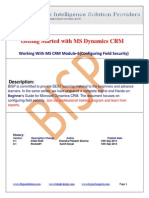 MS Dynamics CRM Module-6(Configuring Field Security)