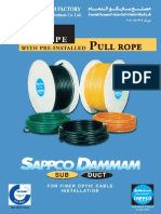 SAPPCO PE Pipes With Pull Rope