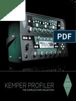 Kemper Profiler Brochure 2014