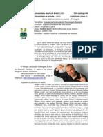 Mingau Ácido é tema de trabalho acadêmico da UNB (pólo Ipatinga - MG)