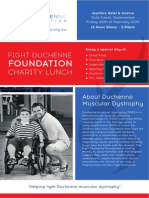 Fight Duchenne Foundation Charity Lunch 2015
