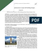 2012_Xie_Aerodynamic Optimization in Tall Bldg Designs_Paper