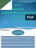 ExDERECHO    INTERNACIONAL HUMANITARIO   EN EL PERUposicion Final