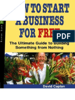 3903639 How to Start a Business for Free the Ultimate Guide to Building Something Profitable From Nothing