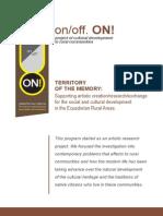 on.off.ON! - Territorio de la memoria [dossier-inglés]