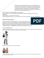 History of the Barong Tagalog