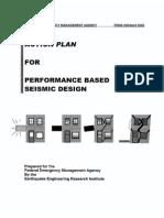 Action Plan for Performance Based Seismic Design