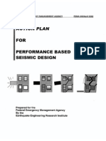 Action Plan for Performance Based Seismic Design