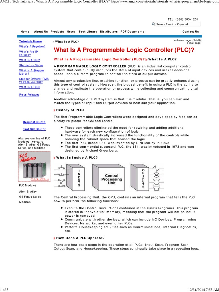 What is a programmable logic controller plc programmable logic what is a programmable logic controller plc programmable logic controller systems engineering publicscrutiny Choice Image