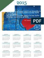Calendari creativi 2015