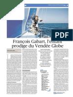 Le Figaro - François Gabart, l'enfant prodige du Vendée Globe