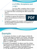 Communication of offer, acceptance and revocation.ppt