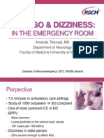 Topik 4 - Vertigo Neuroemergency-dr Amanda SpS
