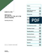 Hmi Tp177a Tp177b Op177b Operating Instructions en US en-US