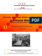 Amicizia S. Weil