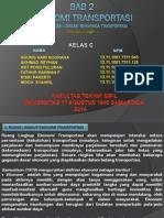 Bab 2 Ekonomi Transportasi Teknik Sipil 2013/2014
