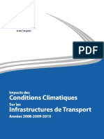 Impacts Des Conditions Climatiques
