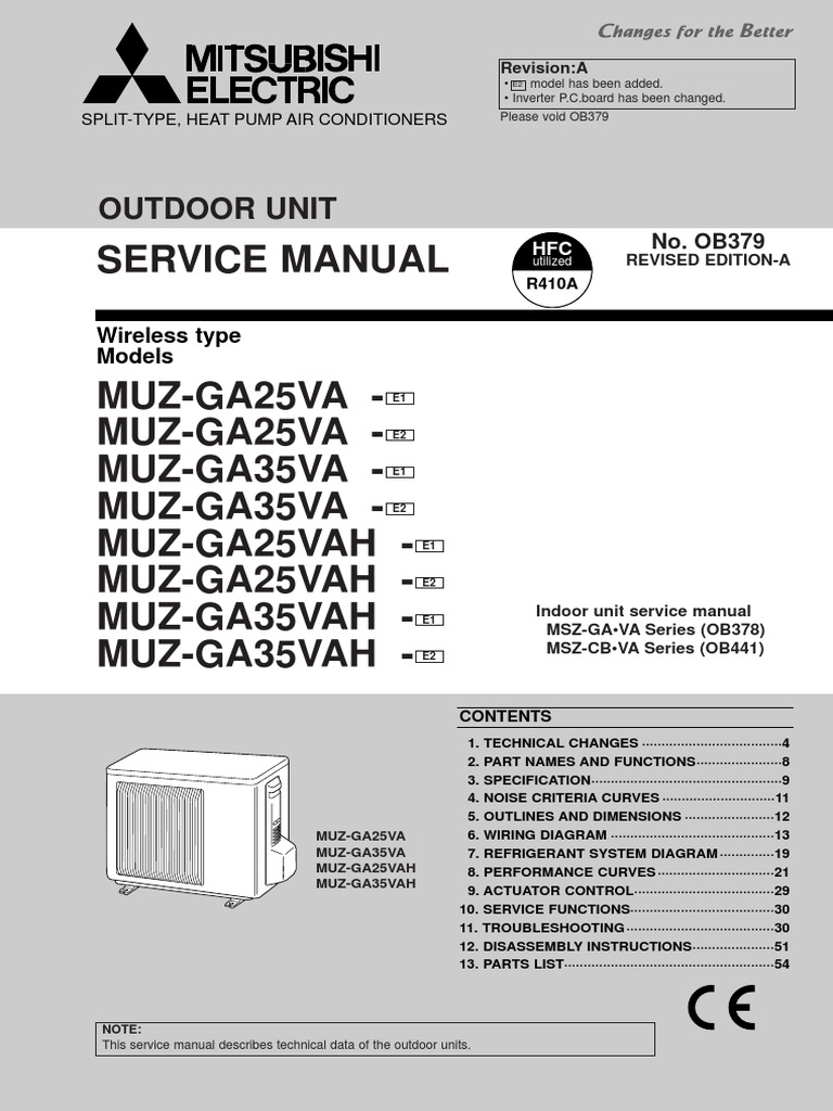 Mitsubishi Msz Gapdf Air Conditioning Thermometer Electric Wiring Diagram