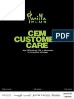 VanillaPlus CEM Customer Care