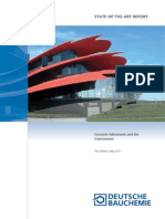 Concrete Admixture and the Environment. 5-Th Edition May 2011