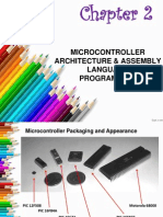 Chapter 2 - Microcontroller Architecture & Assembly Language