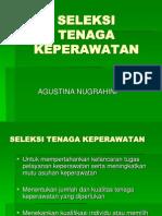 SELEKSI & ROTASI TENAGA KEPERAWATAN.ppt