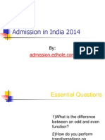 MBA Admissions in India