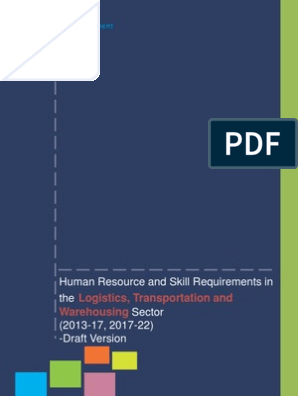 KPMG Report on Logistics, Transportation and Warehousing (2013-2017