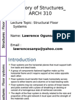 Theory of Structures_Floor systems.ppt