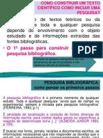 Pesquisa Bibliografica - 3ª Aula