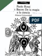 180924159 Bacon de La Magia a La Ciencia