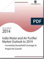 Purifier Market India to 2019 by Water and Air