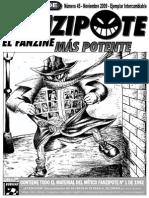 EL CUBO DEL FANZIPOTE Nº 45 - Recuperación de Trabajos Previos a Las Oleadas Creativas