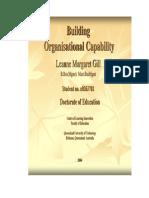Building Organizational Capability