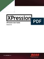 XPression User Guide3500DR 001 5.5