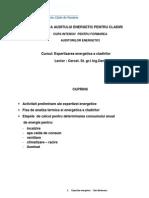 Tehnica Auditului Energetic Expertizarea Energetica a Cladirilor