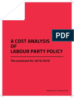 A Cost Analysis of Labour Party Policy for 2015-2016 (1)