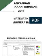 RPT Matematik Pemulihan 2015