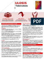 2014 WHO - Tuberculosis WHO Global Report 2014 (Fact Sheet)