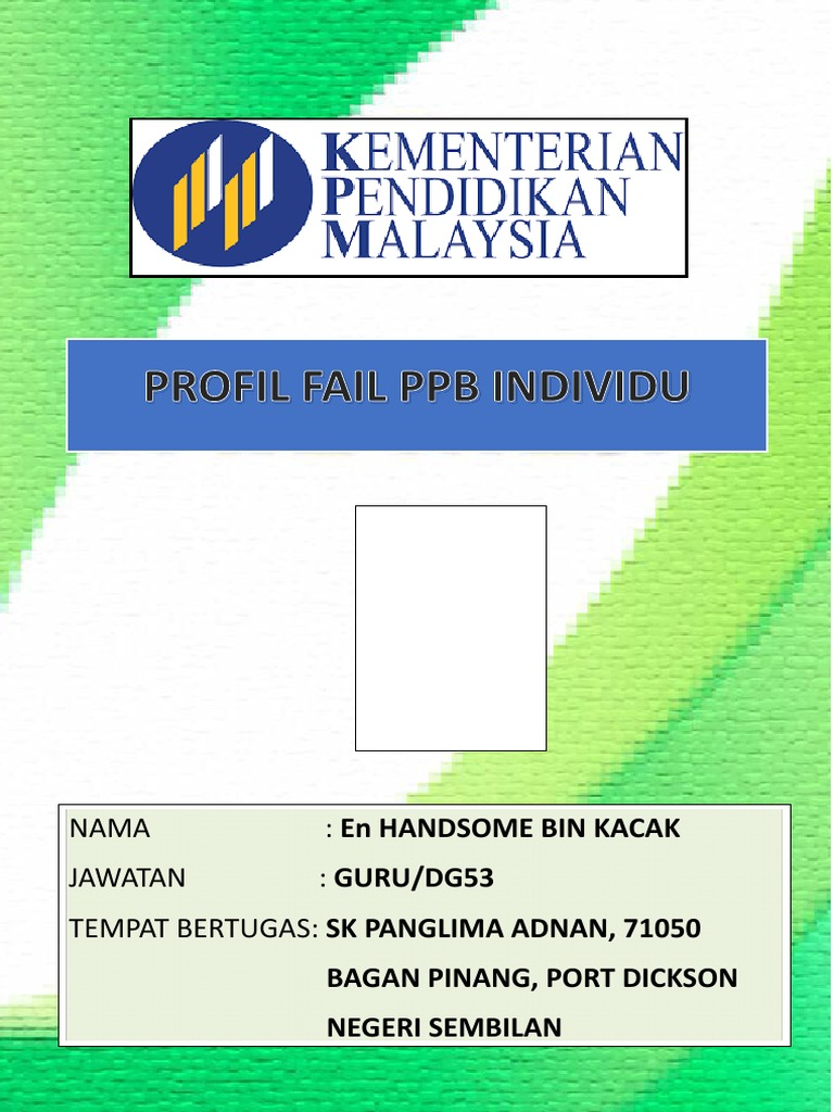 Cover fail ppb baru altavistaventures Choice Image